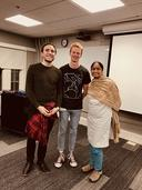 Martín Fuchs, Josh Phillips, and Ashwini Deo